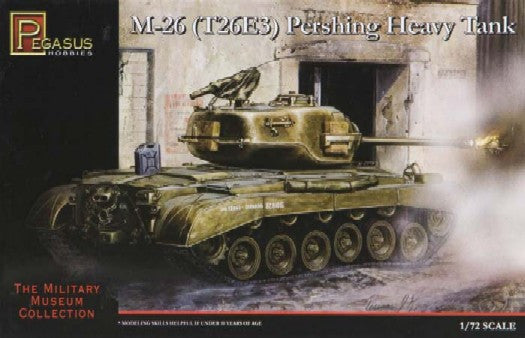 Pegasus Military 1/72 M26 (T26E3) Heavy Pershing Tank Kit