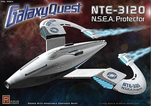 Pegasus Hobbies Sci-Fi & Space 1/1400 Galaxy Quest: NTE3120 NSEA Protector Spaceship Kit