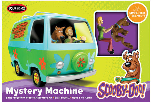 Polar Lights Model Cars 1/25 Scooby Doo Mystery Machine w/Shaggy & Scooby Snap Kit