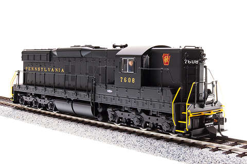 Broadway Limited HO EMD SD9, PRR 7604, Brunswick Green, Paragon3 Sound/DC/DCC