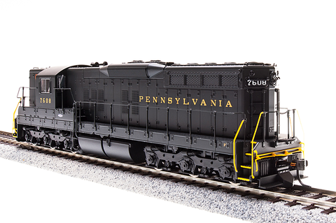 Broadway Limited HO EMD SD9, PRR 7607, Brunswick Green, Paragon3 Sound/DC/DCC
