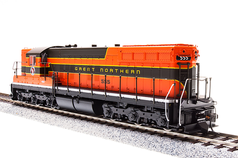 Broadway Limited HO EMD SD9, GN 573, Simplified Empire Builder, Paragon3 Sound/DC/DCC