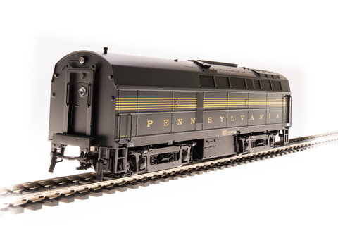 Broadway Limited HO PRR Sharknose, BF-16 B-Unit, #2010B, DGLE, 5-Stripe, w/ Antenna, Paragon3 Sound/DC/DCC
