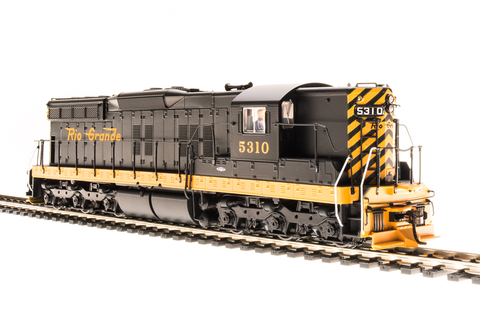 Broadway Limited HO EMD SD9, DRGW 5314, Simplified Schemer, Paragon3 Sound/DC/DCC