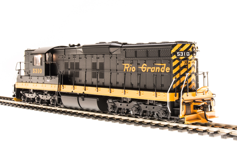 Broadway Limited HO EMD SD9, DRGW 5312, Simplified Scheme, Paragon3 Sound/DC/DCC