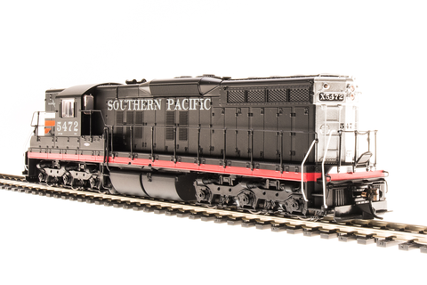 Broadway Limited HO EMD SD7 - Sound and DCC - Paragon3 - Southern Pacific 5332 (Black Widow, Black, Red, Silver, Orange)