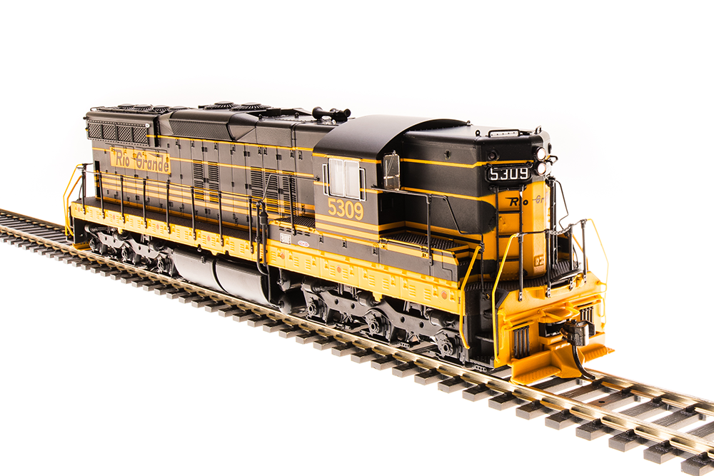 Broadway Limited Imports HO EMD SD-9 Paragon3 Sound/DC/DCC DRGW #5309