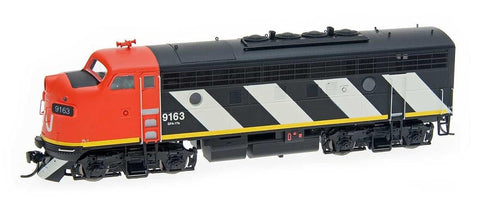 InterMountain Railway HO Assembled EMD F7A Locomotive w/Sound - Canadian National - Repaint