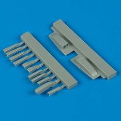 Quickboost Details 1/48 Su7 Air Scoops for Kopro