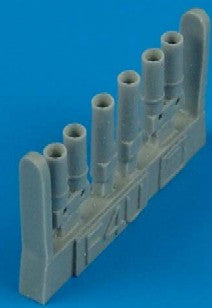 Quickboost Details 1/48 F4U7 Exhaust for HSG