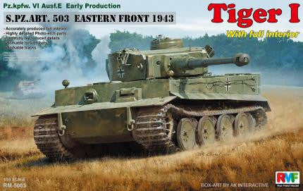 Rye Field Models Tiger I (Early) s.Pz.Abt.503 Russia 1943 Kit