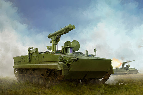 Trumpeter Military 1/35 Russian 9P157-2 Khrizantema-S Anti-Tank System (New Variant) Kit