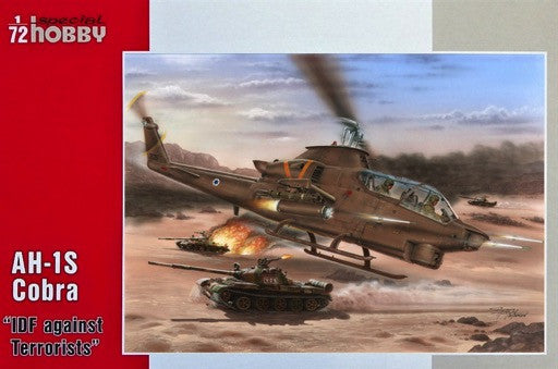 Special Hobby Aircraft 1/72 AH1S Cobra IDF against Terrorists Helicopter Kit