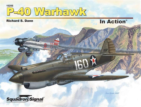 Squadron Signal P-40 Warhawk In Action