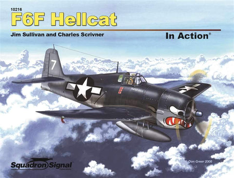 Squadron Signal F-6F Hellcat In Action