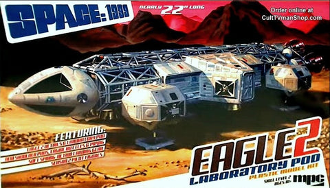 MPC Sci-Fi 1/48 Space 1999: Eagle II Transporter w/Lab Pod Kit