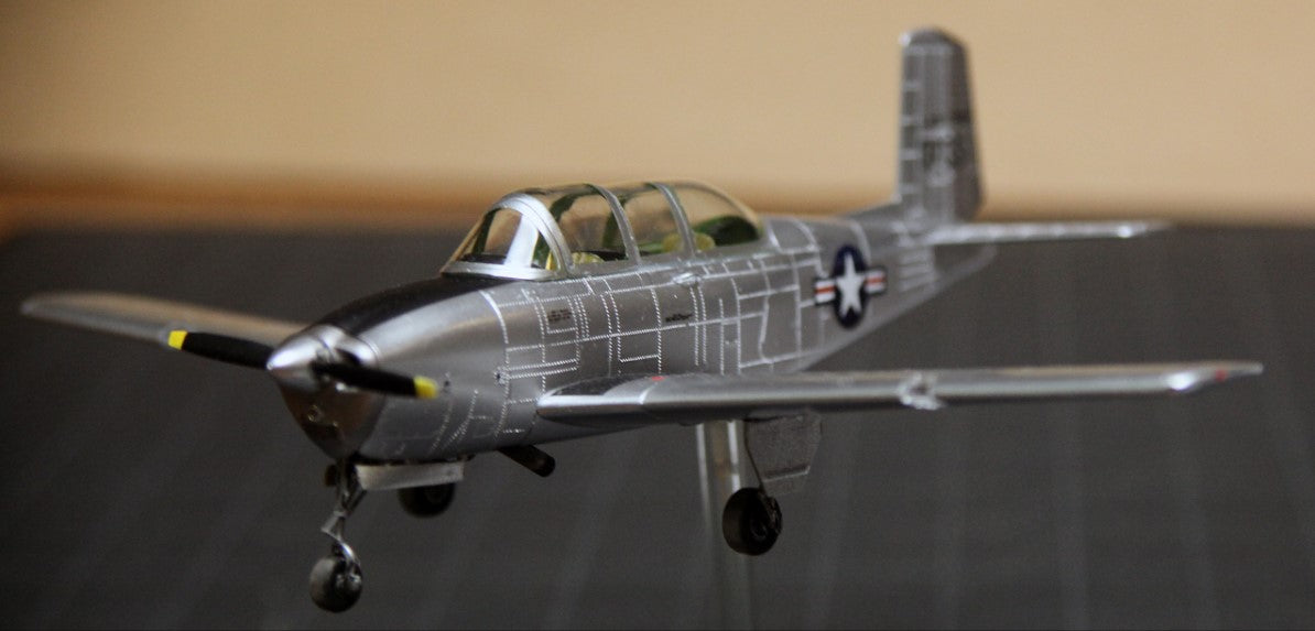Minicraft Model Aircraft 1/48 T43A/B Mentor Aircraft (New Tool) Kit