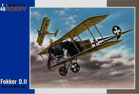 Special Hobby Aircraft 1/32 Fokker D II BiPlane Fighter Kit (New Tool)