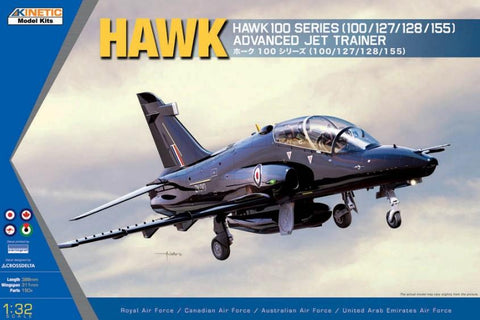 Kinetic Aircraft 1/32 Hawk 100 Series Advanced Jet Trainer Kit
