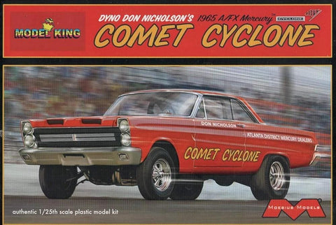 Model King 1/25 '65 Merc Comet Cycl Nicholson Kit