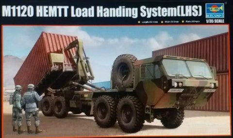 Trumpeter Military 1/35 M1120 HEMTT Load Handling System (LHS) Tactical Truck (New Variant w/New Tooling) Kit