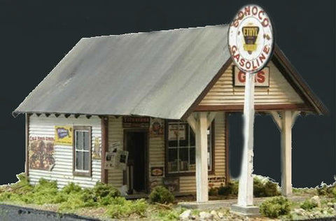 Banta Modelworks O 1930'S Gas Station Kit