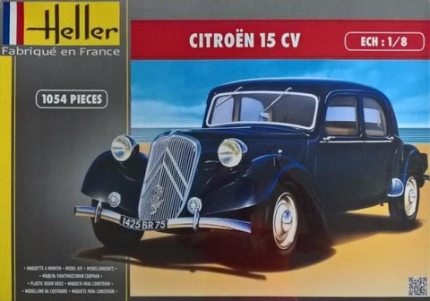 Heller Model Cars 1/8 Citroen 15CV 4-Door Sedan Car Kit