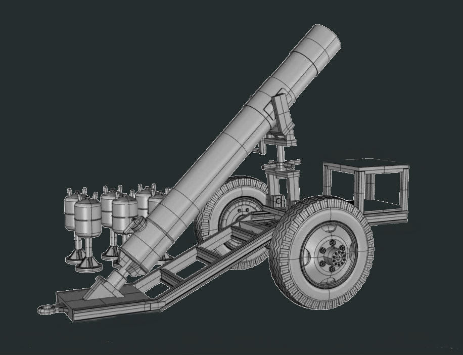 Ace Military 1/72 Hell Cannon Syrian Artillery Kit