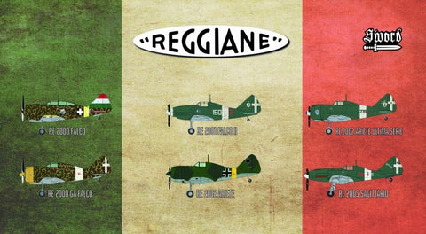 Sword Aircraft 1/72 Reggiane Re2000 Falco Fighter Kit