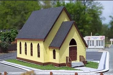Osborn HO Church Kit