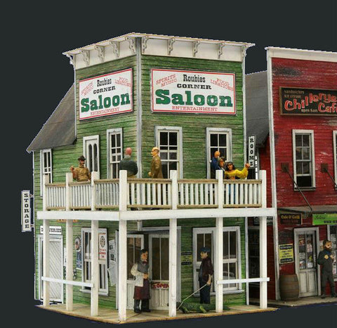Banta Modelworks HO Roubies's Cafe & Grill Kit