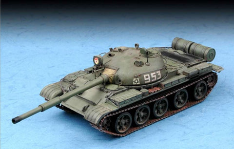 Trumpeter Military 1/72 Russian T62 Mod 1962 Main Battle Tank Kit