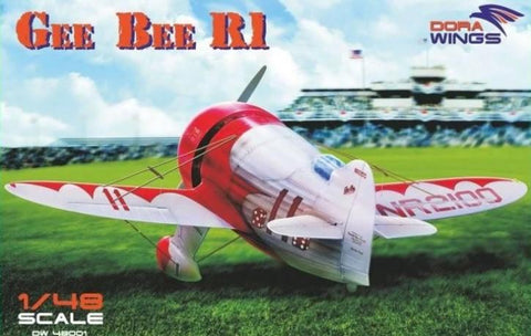 Dora Wings 1/48 Bee Gee R1 Super Sportster Aircraft (New Tool) Kit