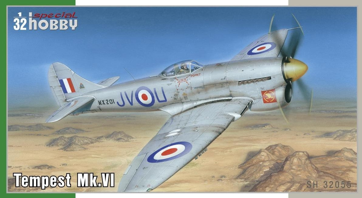 Special Hobby Aircraft 1/32 WWII Hawker Tempest Mk VI Fighter Kit