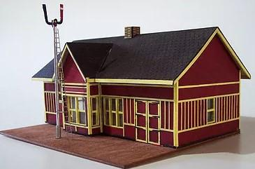 Osborn HO Train Station Kit