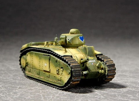 Trumpeter Military Models 1/72 French Char B1 Tank Kit
