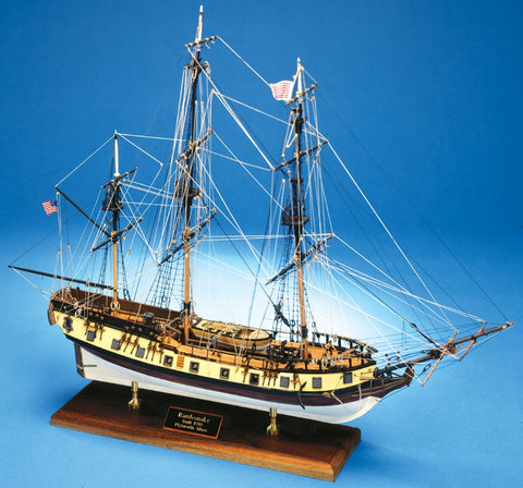 Model Shipways 1/64 Rattlesnake Wooden Kit