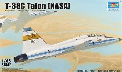 Trumpeter Aircraft 1/48 USAF T38C Talon NASA Jet Trainer Kit