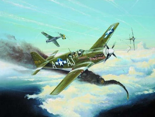 Trumpeter Aircraft 1/32 P51B Mustang Fighter Kit