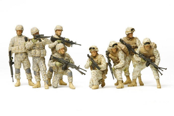 Tamiya Military 1/35 US Modern Infantry Iraq War (8 Figures) Kit
