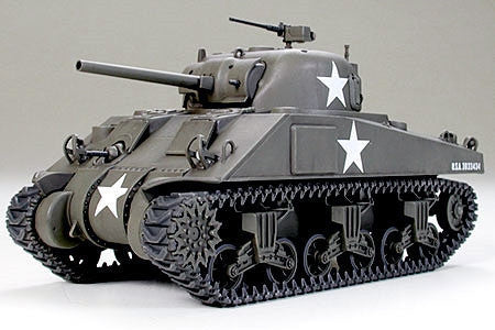Tamiya Military 1/48 US M4 Sherman Early Tank Kit