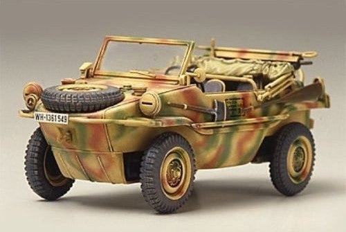 Tamiya Military 1/48 Schwimmwagen Type 166 Amphibious Vehicle Kit