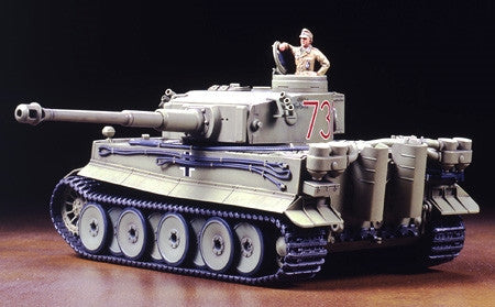 Tamiya Military 1/48 German Tiger I Initial Tank Africa Corps Kit