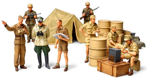 Tamiya Military 1/48 WWII German Africa Corps Infantry (8 Figures) Kit