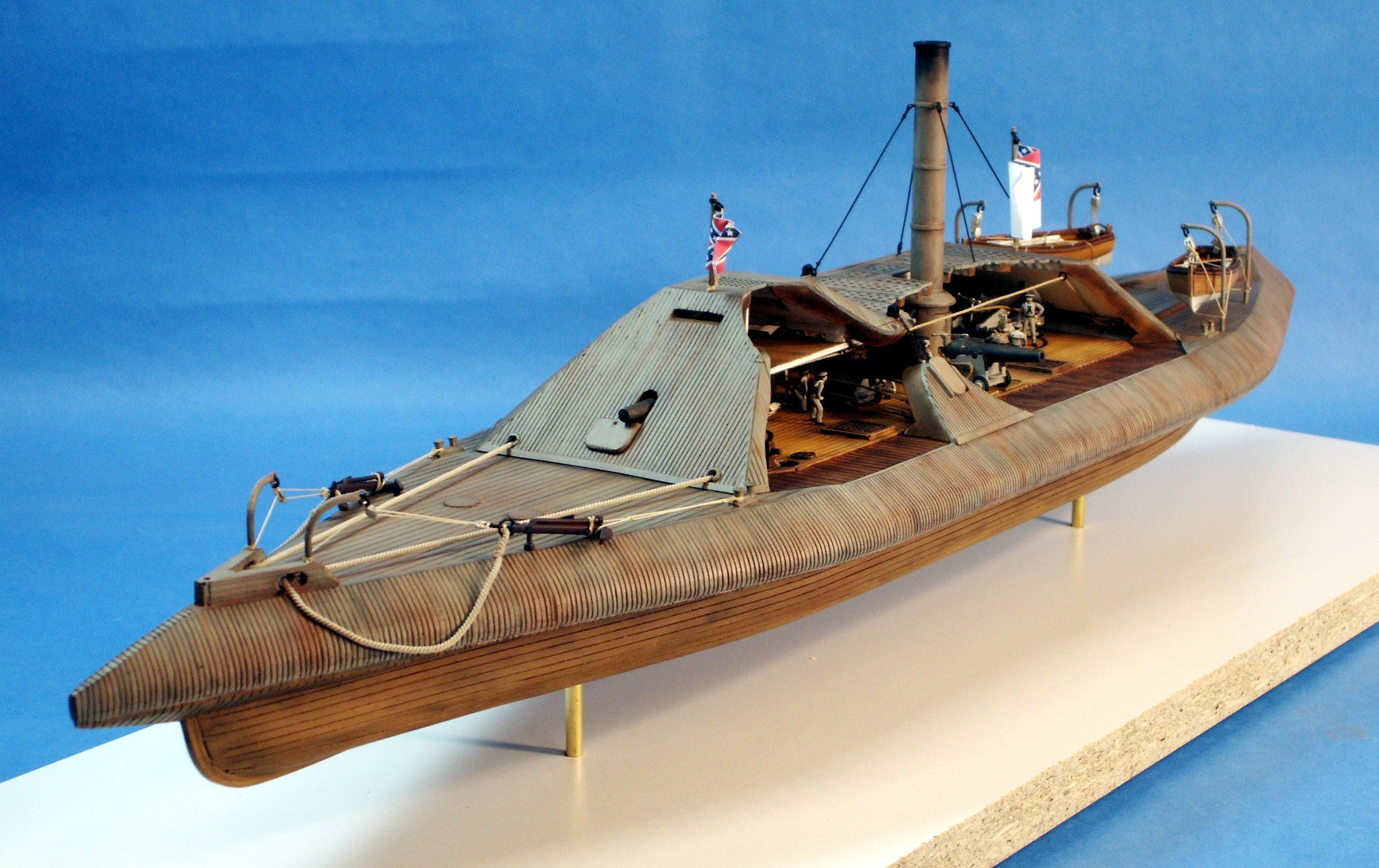 Cottage Industry Ships 1/96 CSS Tennessee Confederate Ironclad Warship Resin Kit