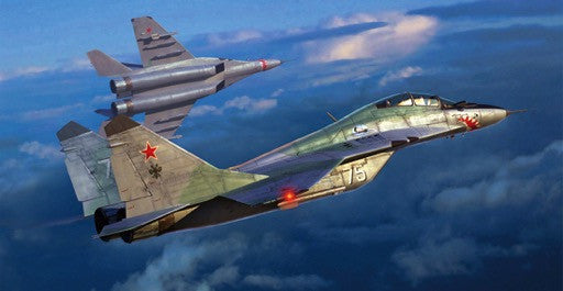 Trumpeter Aircraft 1/72 Mig29UB Fulcrum Russian Fighter Kit