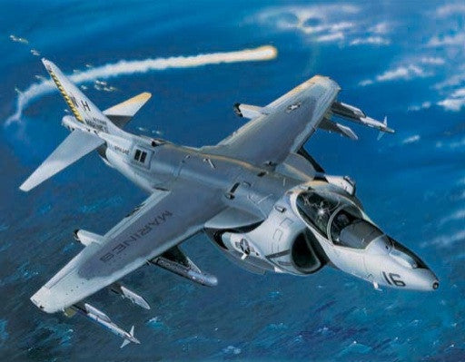 Trumpeter Aircraft 1/32 AV8B Harrier II Night Attack Aircraft Kit