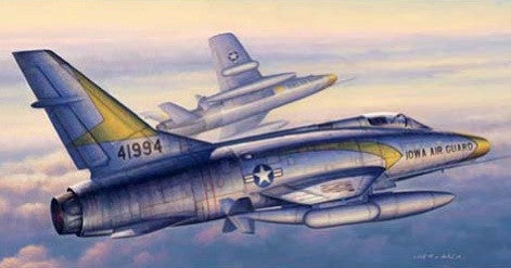 Trumpeter Aircraft 1/48 F100C Super Sabre Fighter Kit