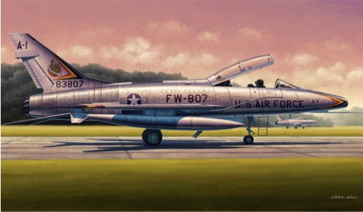 Trumpeter Aircraft 1/48 F100F Super Sabre Fighter Kit