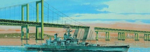 Trumpeter Ship Models 1/700 USS New Jersey BB62 Battleship 1983 Kit